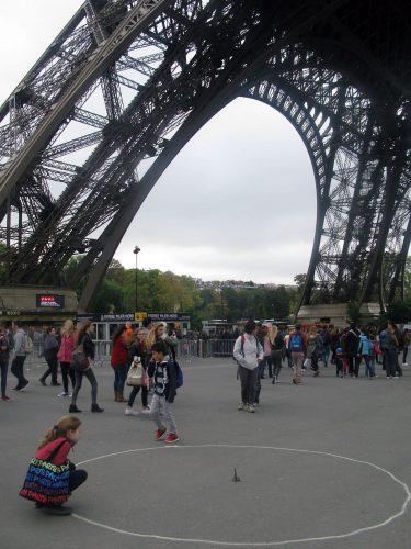 L'échelle historique de la Tour Eiffel