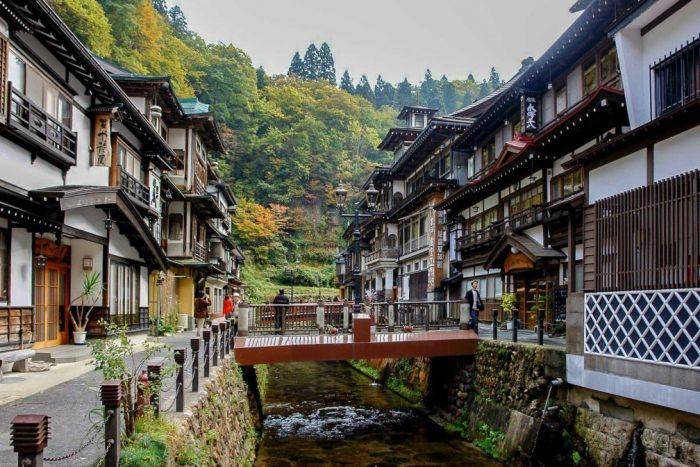 Région de Tohoku au Japon